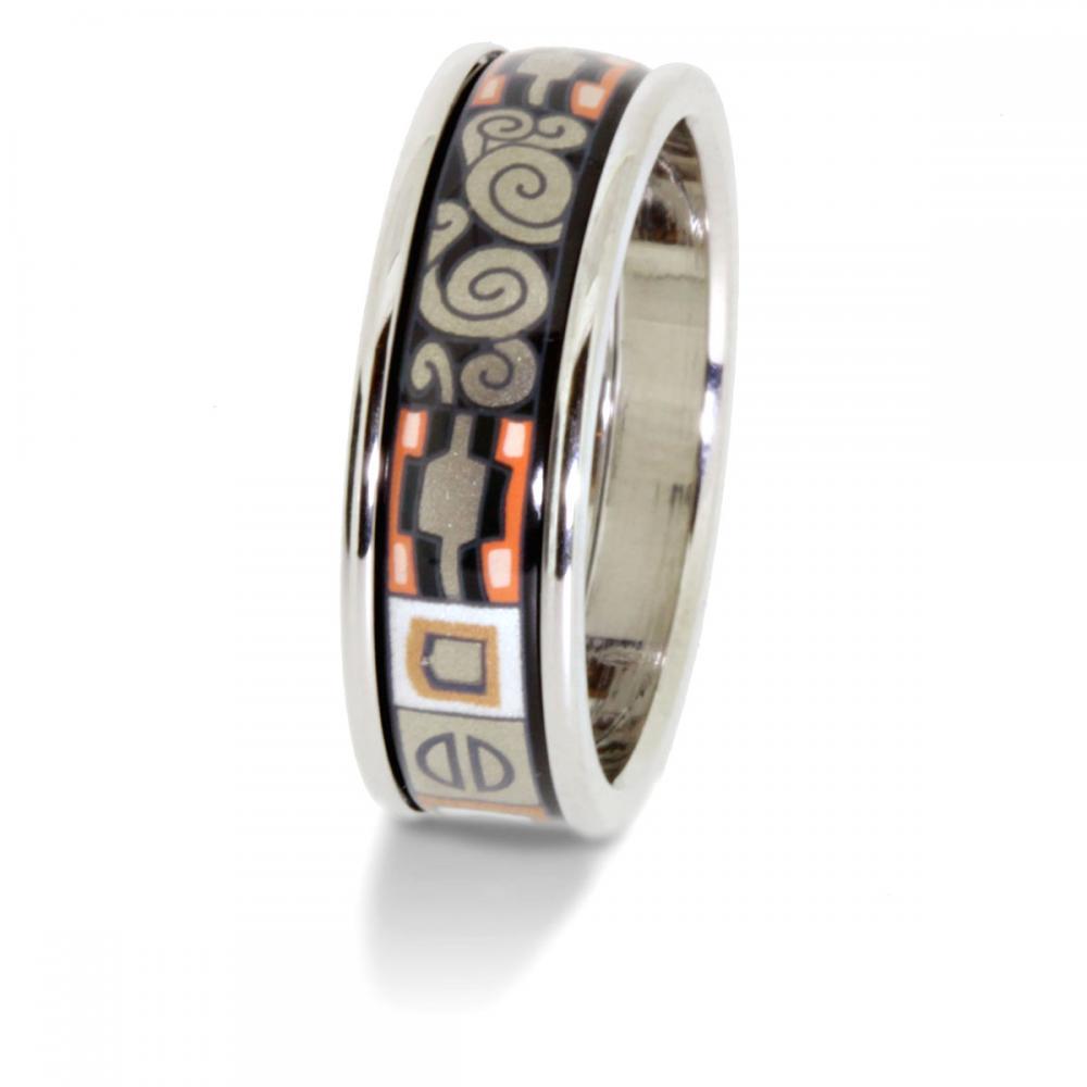 Frey Wille Gustav Klimt Ring Schmal