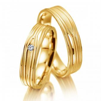Meister Trauringe pure elegance Gelbgold