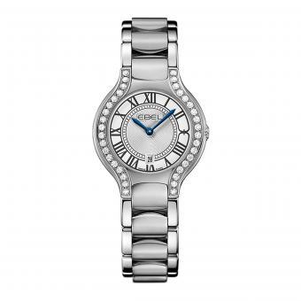 EBEL Beluga Damenuhr Silber Diamanten