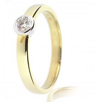 Verlobungsring Klassisch 0,2 carat