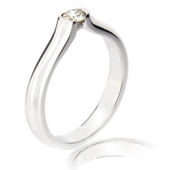 Solitär Ring feminin