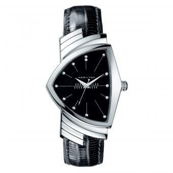 Hamilton Uhr Ventura Quarz Schwarz H24411732