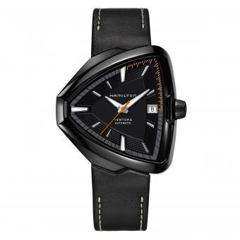 Hamilton Uhr Ventura Elvis 80 Schwarz H24585731