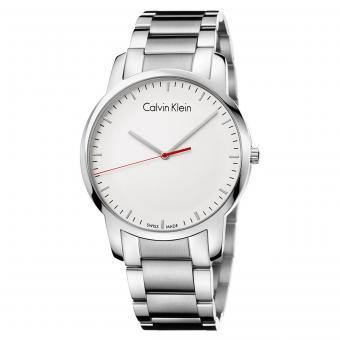 Calvin Klein K2G2G1Z6 Uhr City Gent Stahl Silber