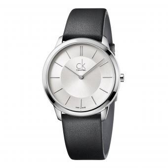 Calvin Klein K3M211C6 Uhr Gent Minimal Silber