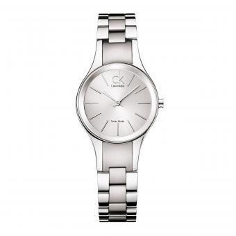 Calvin Klein K4323185 Damenuhr Simplicity Silber