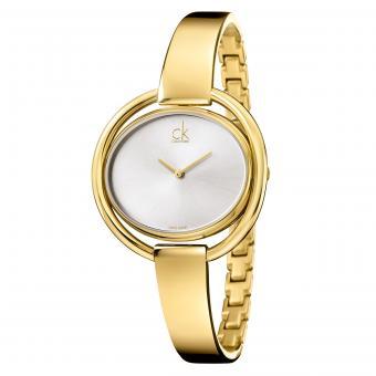 Calvin Klein K4F2N516 Damenuhr Impetuous Gold