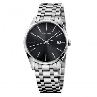 Calvin Klein K4N23141 Damenuhr Time Schwarz