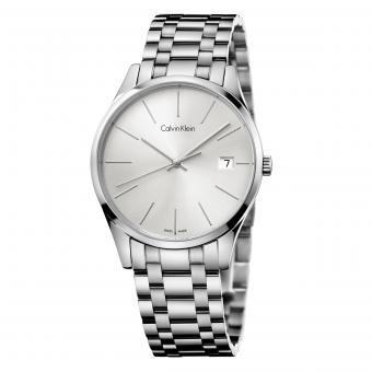Calvin Klein K4N23146 Damenuhr Time Silber