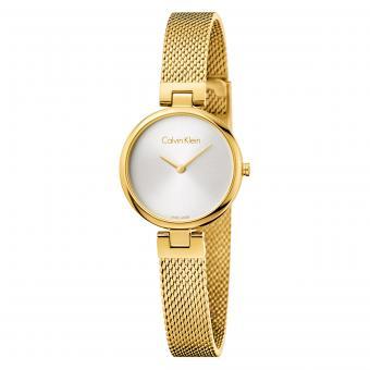 Calvin Klein K8G23526 Damenuhr Authentic Mesh Gold