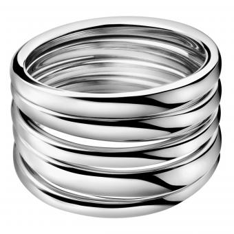 Calvin Klein KJ2GMR0001 Ring Sumptuous Silber