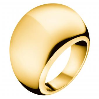 ck KJ3QJR1001 Calvin Klein Ring Ellipse Gold