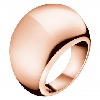 ck KJ3QPR1001 Calvin Klein Ring Ellipse Roségold
