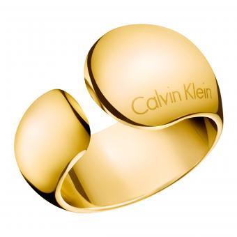 Calvin Klein ck Ring Gold KJ6GJR1001 Informal