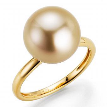 Südseeperlen Ring Gold