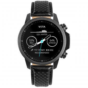 VIITA Active HRV Adventure black-Leather Perforated