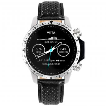 VIITA Active HRV Tachymeter-Leather Perforated